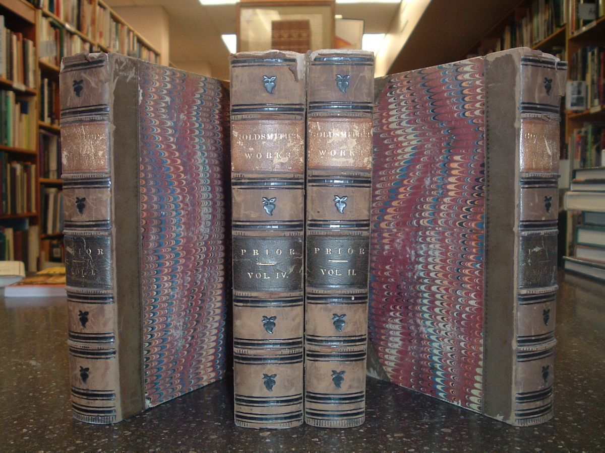 THE MISCELLANEOUS WORKS OF OLIVER GOLDSMITH [4 VOLUMES]. Oliver Goldsmith, James Prior.