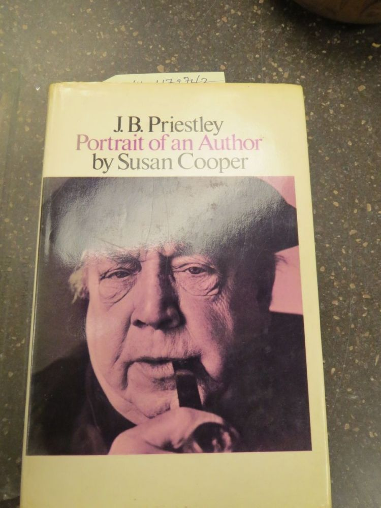 J. B. PRIESTLY, PORTRAIT OF AN AUTHOR [W/ EPHEMERA SIGNED BY PRIESTLY]. Susan Cooper.