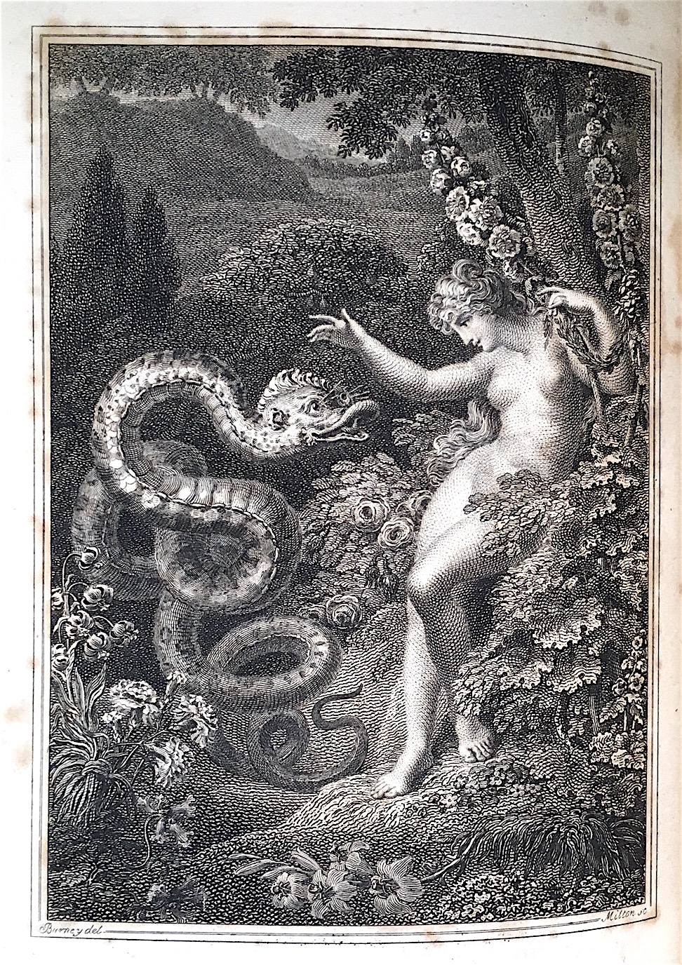 MILTON'S PARADISE LOST, WITH THE LIFE OF THE AUTHOR TO WHICH IS PREFIXED THE CELEBRATED CRITIQUE BY SAM JOHNSON. John Milton.