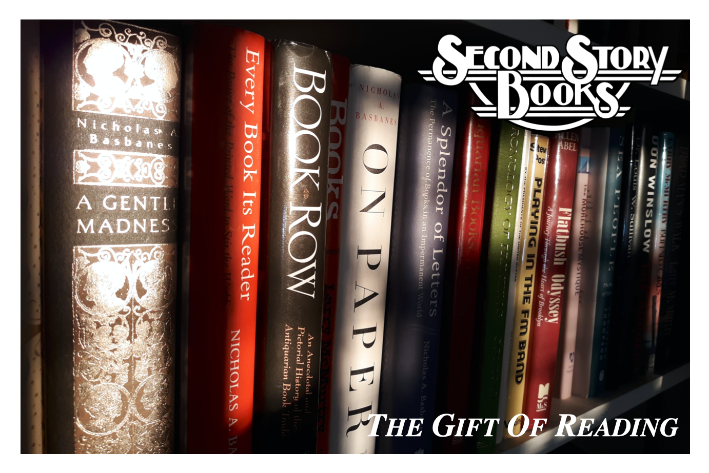 SECOND STORY BOOKS : $500 GIFT CERTIFICATE. $500 GIFT CERTIFICATE.