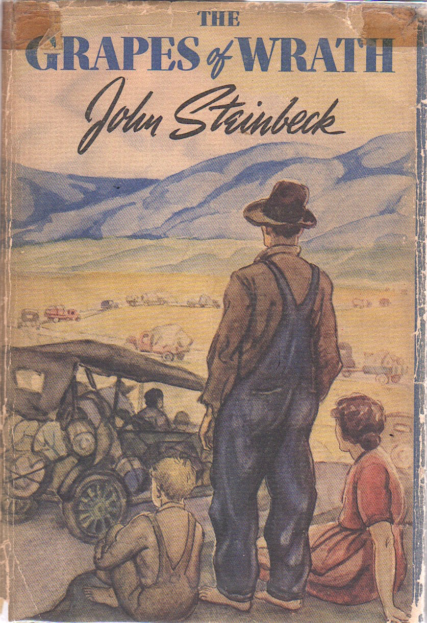 THE GRAPES OF WRATH [Signed]. John Steinbeck.