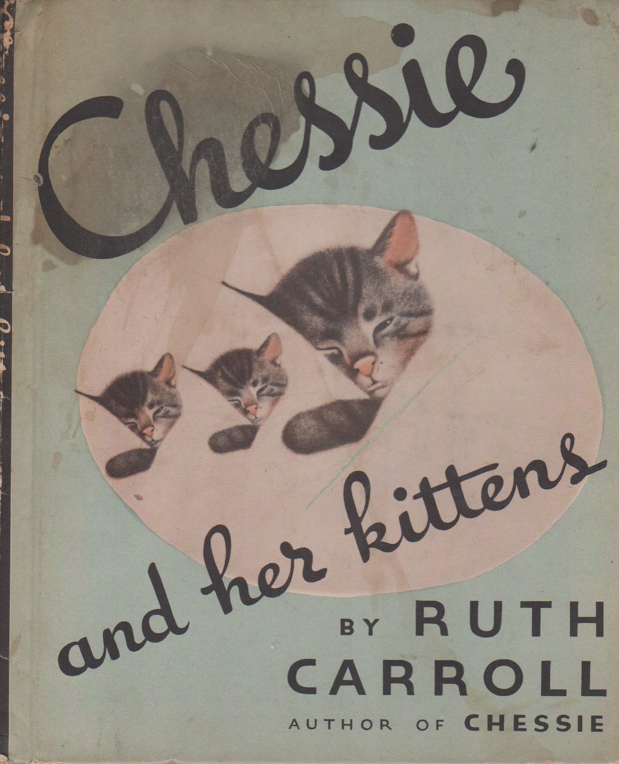 CHESSIE AND HER KITTENS. author, presumed.