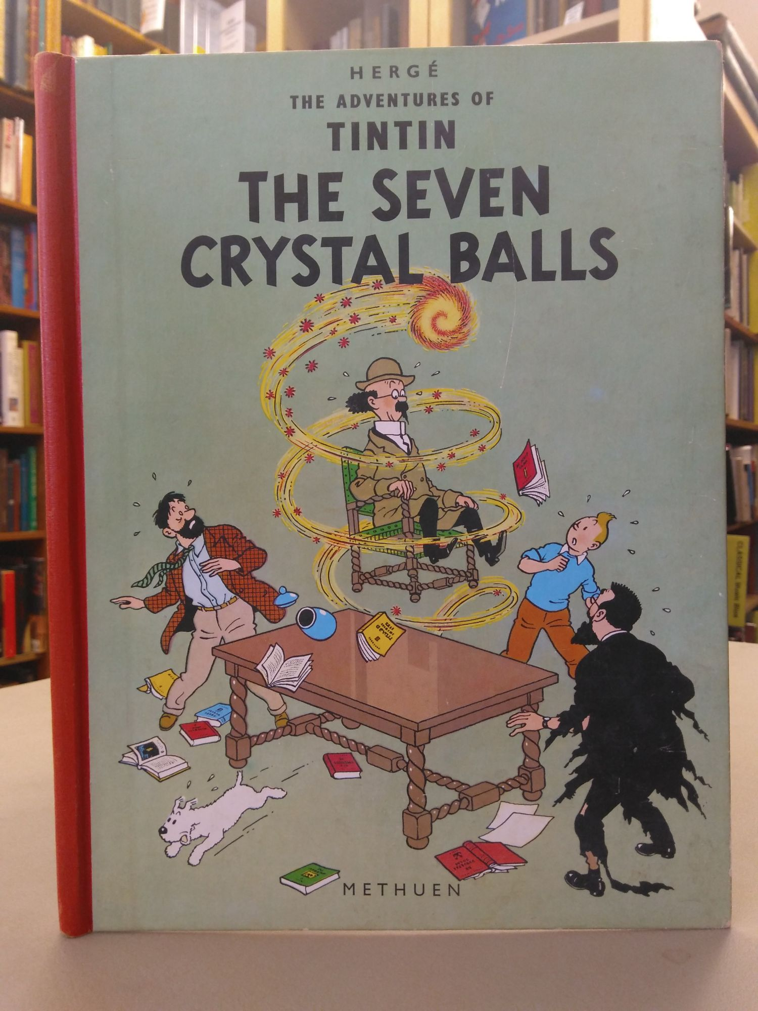 THE SEVEN CRYSTAL BALLS [ADVENTURES OF TINTIN #13]. Hergé, Georges Prosper Remi.