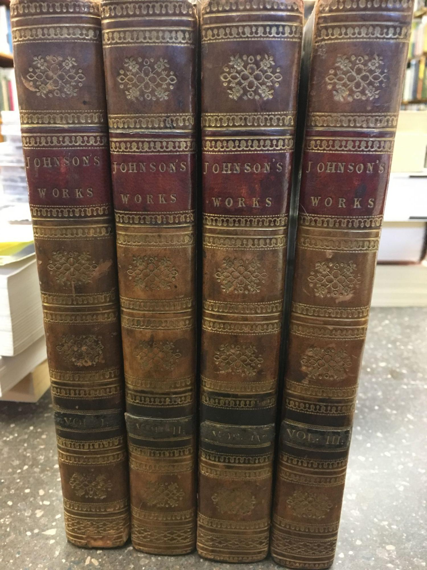 THE LIVES OF THE MOST EMINENT ENGLISH POETS. WITH CRITICAL OBSERVATIONS ON THEIR WORKS. [FOUR VOLUMES]. Samuel Johnson.