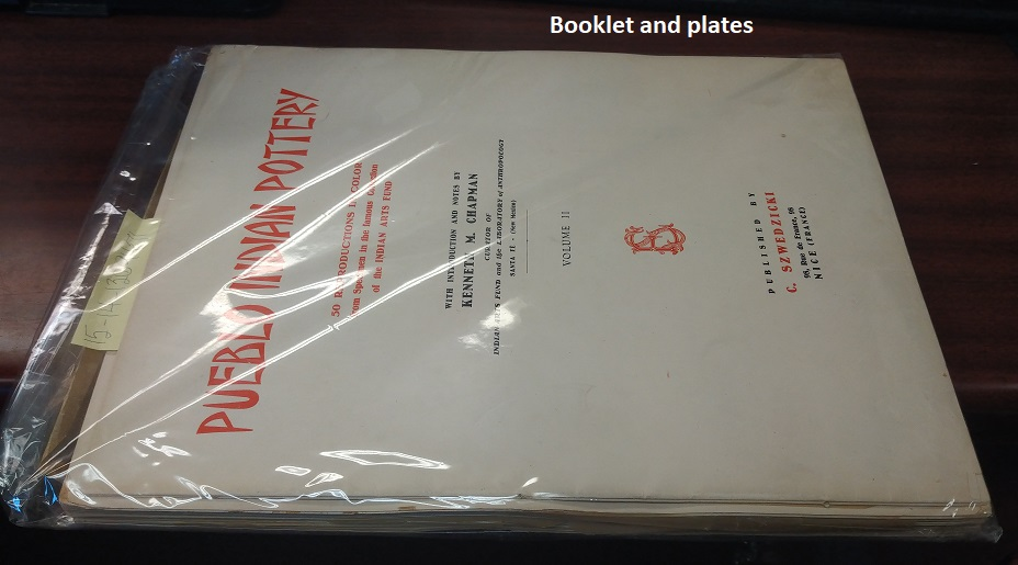 Pueblo Indian Pottery, Volume II [signed]. Kenneth M. Chapman, with introduction and.