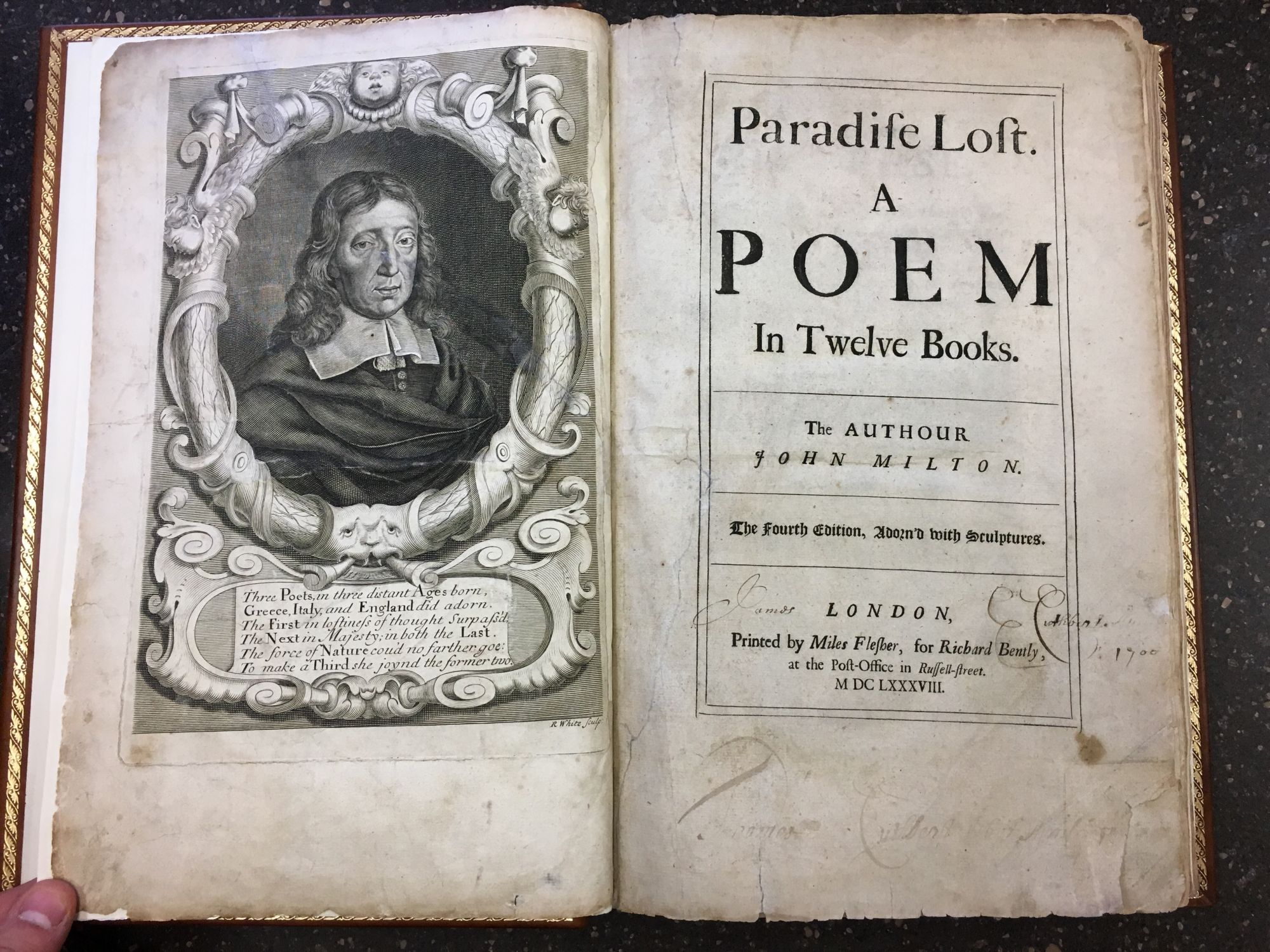 PARADISE LOST. A POEM IN TWELVE BOOKS. John Milton.