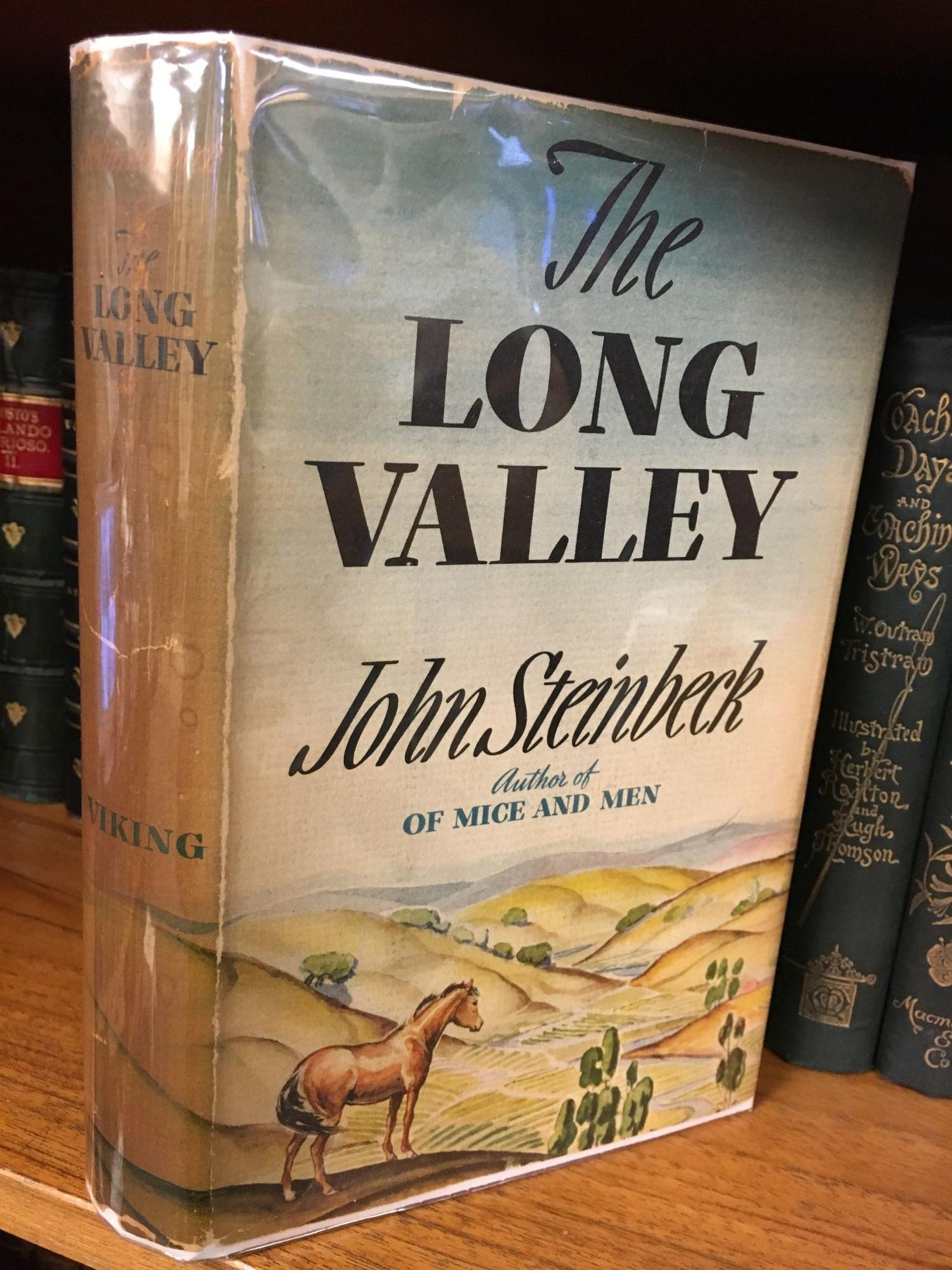 THE LONG VALLEY. John Steinbeck.