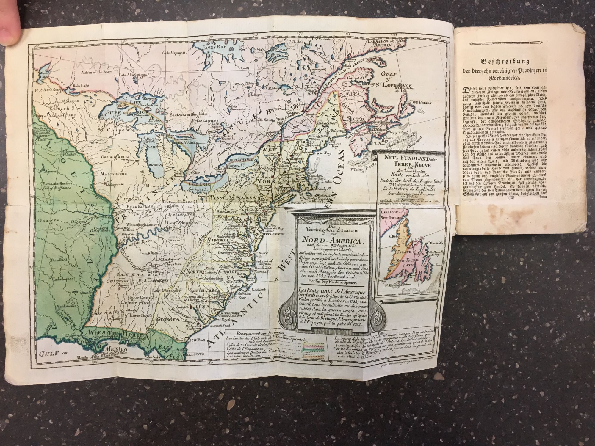 ALLGEMEINES HISTORISCHES TASCHENBUCH, ODER, ABRISS DER MERKWÜRDIGSTEN NEUEN WELT-BEGEBENHEITEN: ENTHALTEND FÜR 1784 DIE GESCHICHTE DER REVOLUTION VON NORD-AMERICA [GENERAL HISTORICAL POCKETBOOK, SUMMARIZING NOTEWORTHY WORLD NEWS OF 1784, WITH A HISTORY OF THE REVOLUTION IN NORTH AMERICA.]. Matthias Christian Sprengel, Daniel Friedrich Sotzmann.