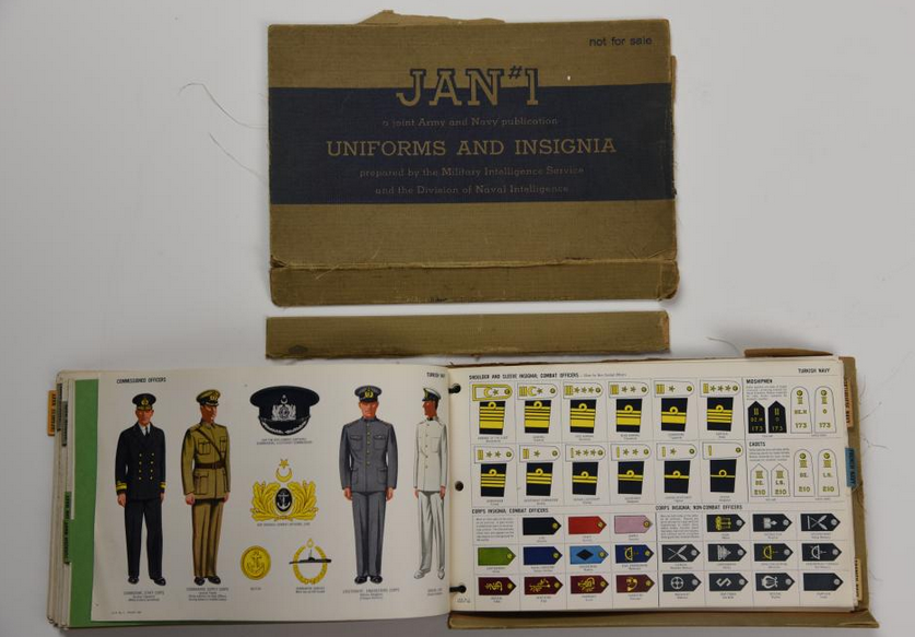 Jan #1 : Uniforms and Insignia