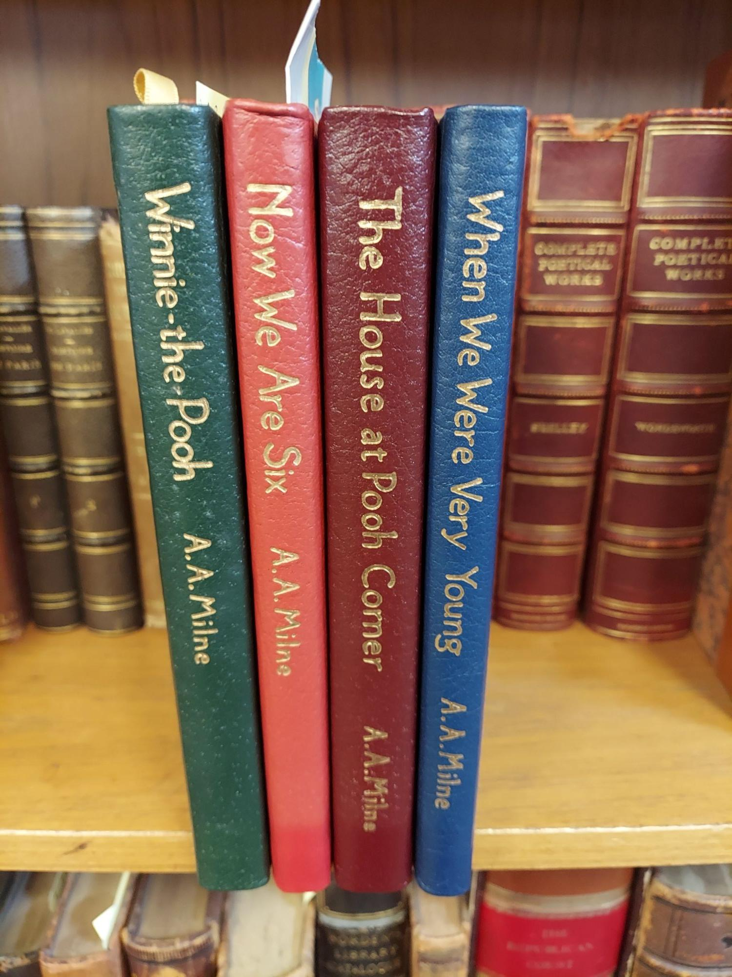 THE COLLECTED STORIES OF A.A. MILNE: WINNIE-THE-POOH/ THE HOUSE AT POOH CORNER/ WHEN WE WERE YOUNG/ NOW WE ARE SIX. A. A. Milne.