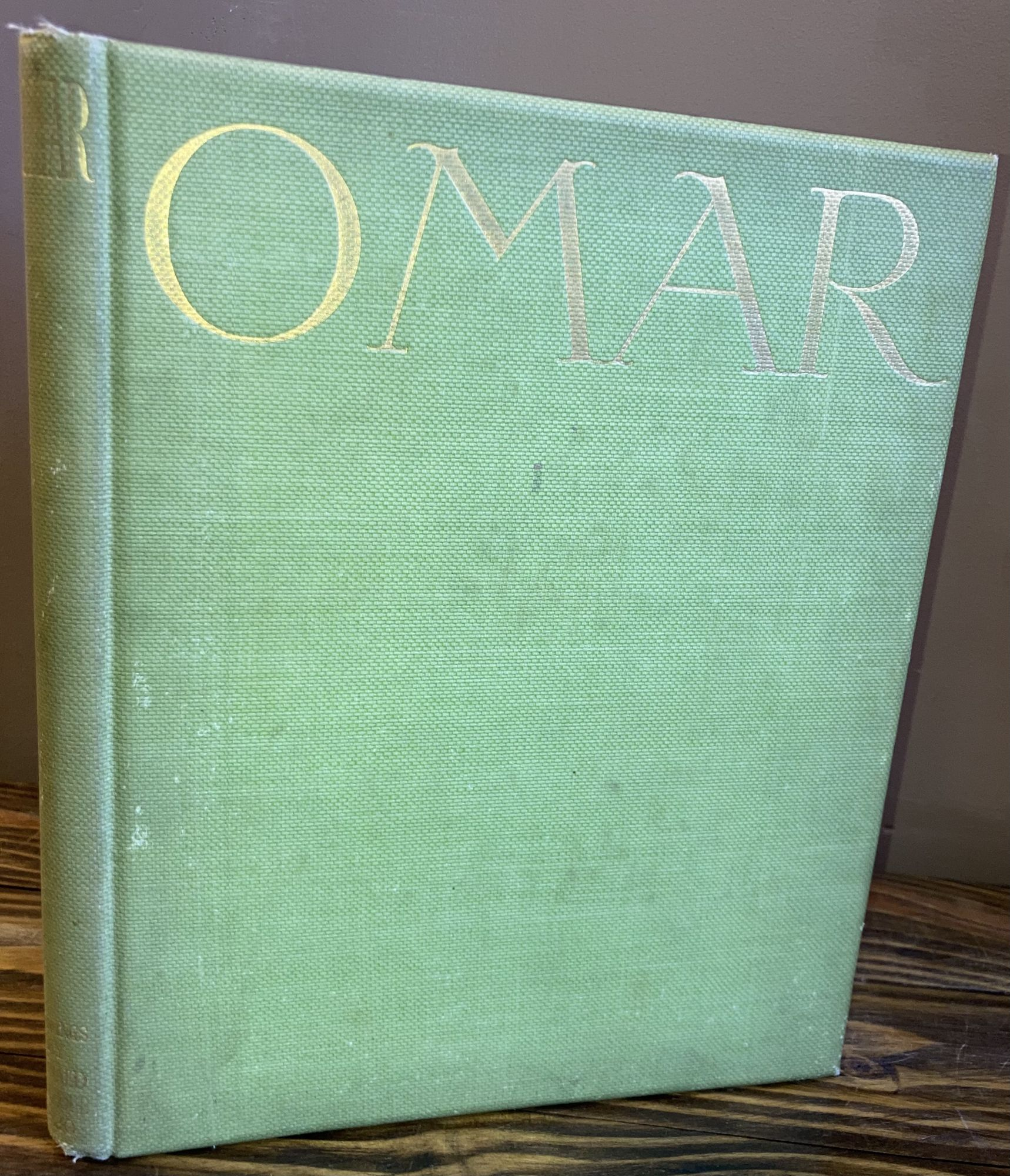 THE RUBAIYAT OF OMAR KHAYYAM [SIGNED]. Ronald Balfour.
