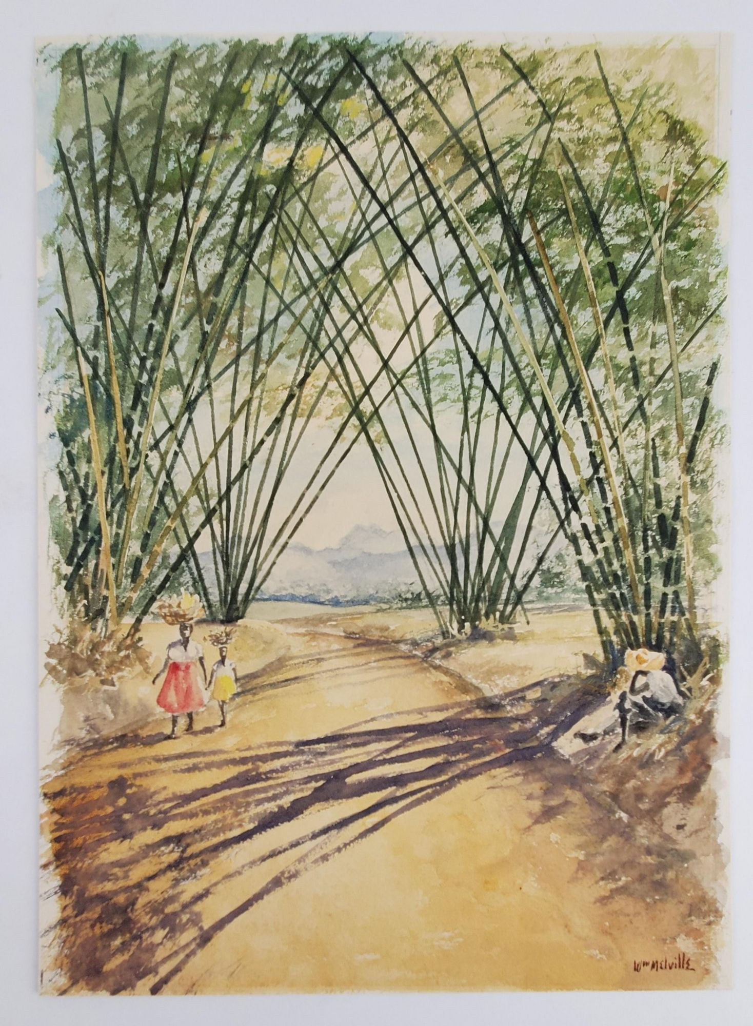 Jamaican Road. W. Melville.