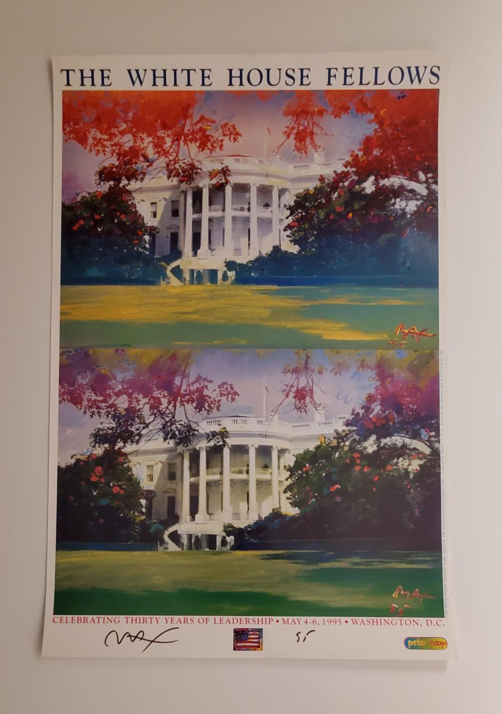 The White House Fellows [SIGNED]. Peter Max.