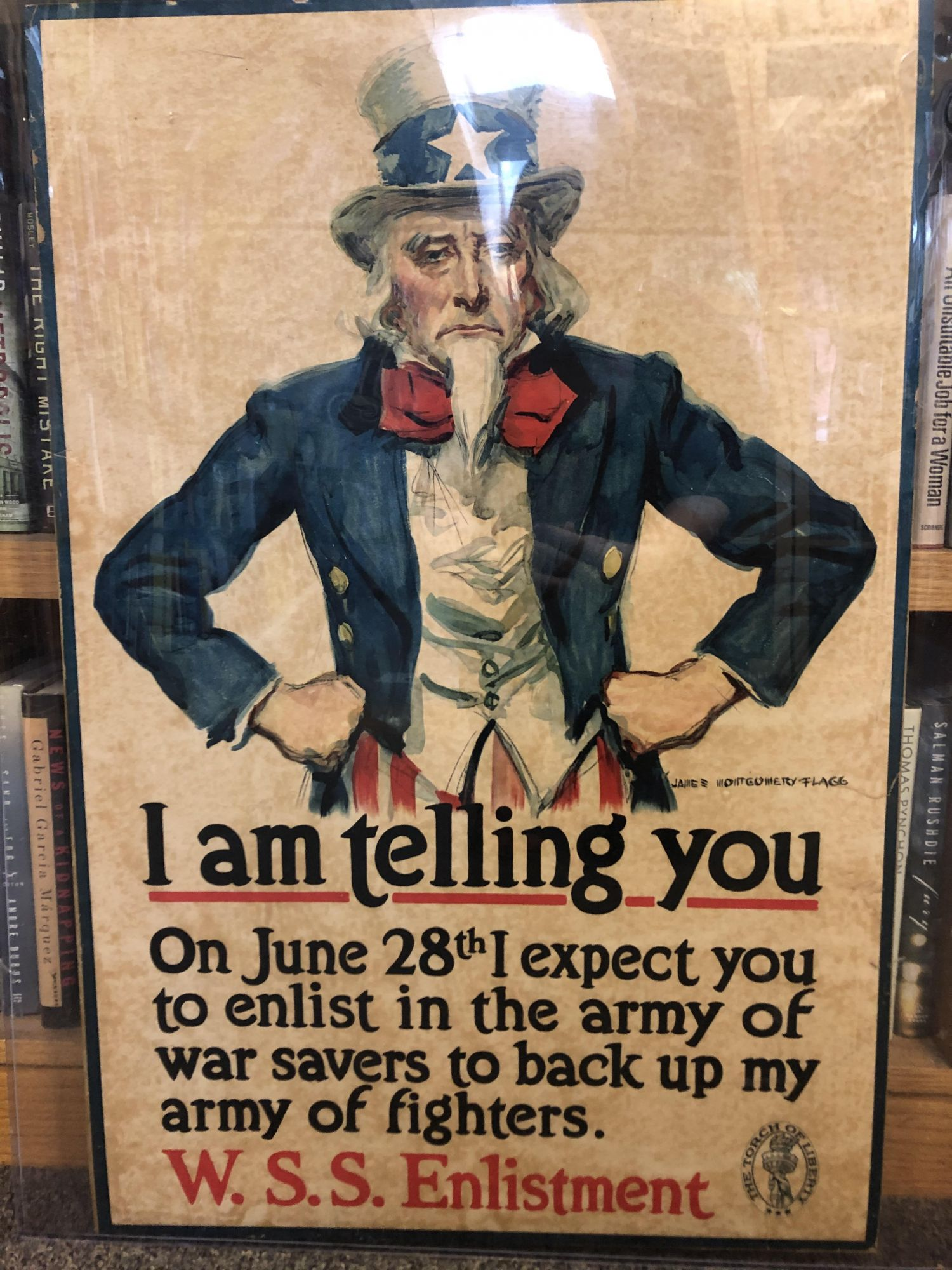 I Am Telling You. James Montgomery Flagg.