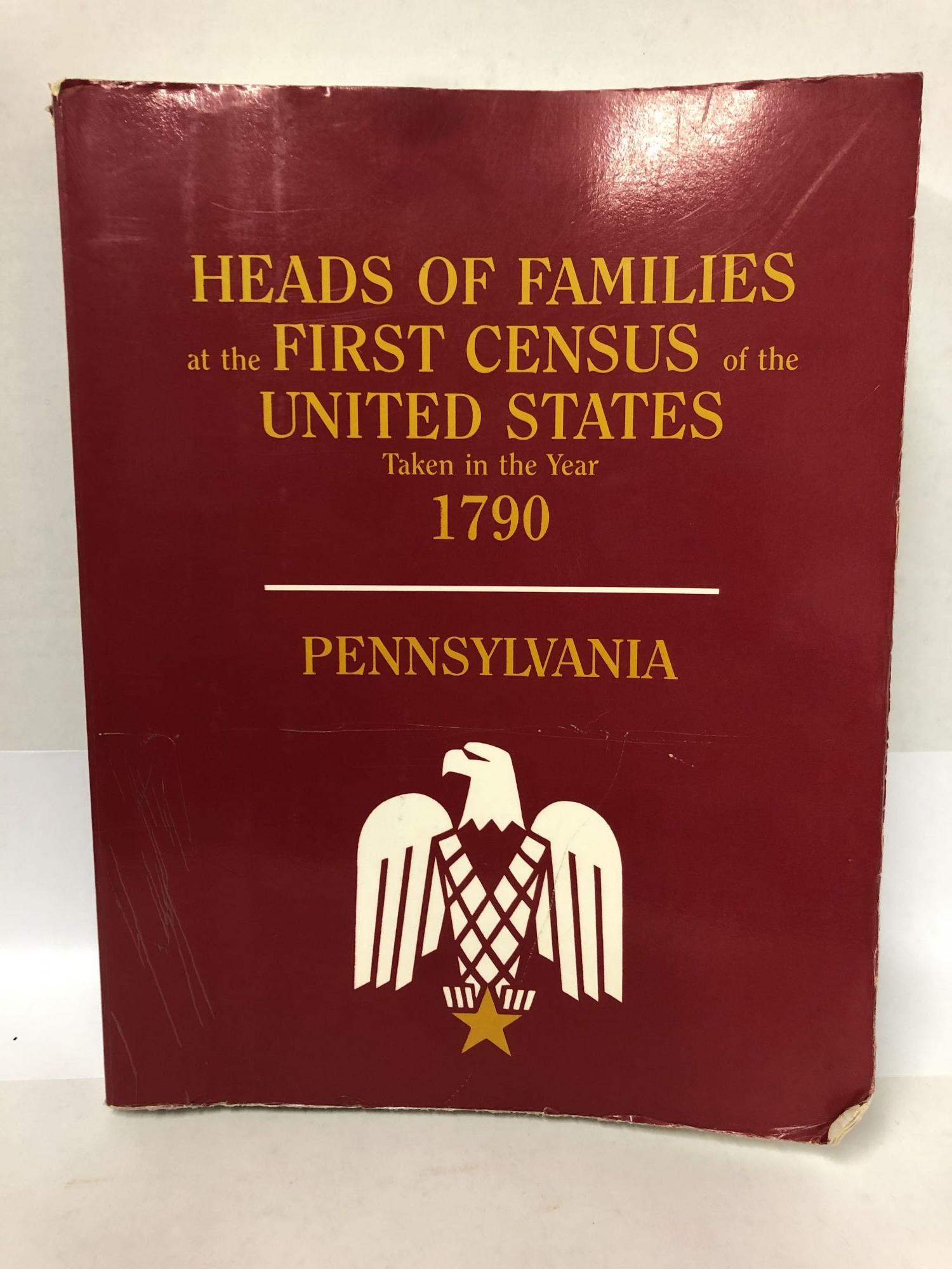 Pennsylvania: Heads of Families at the First Census of the United States Taken in the Year 1790