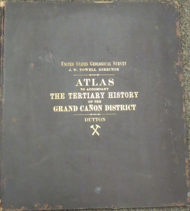 ATLAS TO ACCOMPANY THE TERTIARY HISTORY OF THE GRAND CANYON DISTRICT