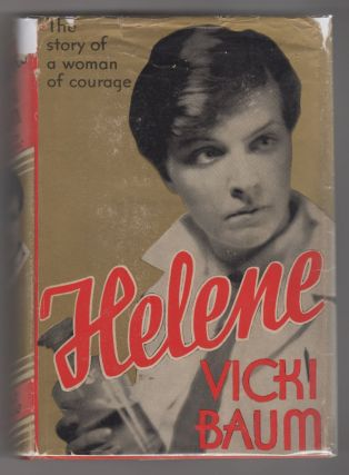 HELENE [Inscribed]. Vicki Baum