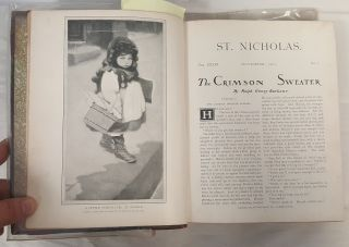 ST. NICHOLAS; AN ILLUSTRATED MAGAZINE FOR YOUNG FOLKS; VOLUME XXXIII, PART I