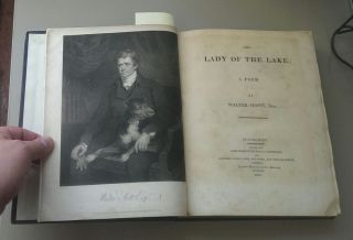 THE LADY OF THE LAKE; A POEM