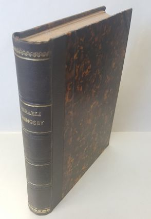 COLLECTION OF BRITISH AUTHORS. VOL. LXVII: CONINGSY; OR, THE NEW GENERATION. Benjamin Disraeli