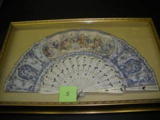 FRAMED MID 19TH-CENTURY ITALIAN FAN