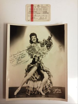 COLLECTION OF EPHEMERA FROM HOLLYWOOD CAREER OF FRANCINE AMES. Francine Ames.