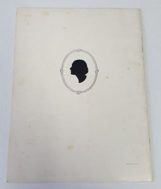 KATHARINE CORNELL SIGNED AND INSCRIBED SOUVENIR BOOK GALLERY OF STAGE PORTRAITS