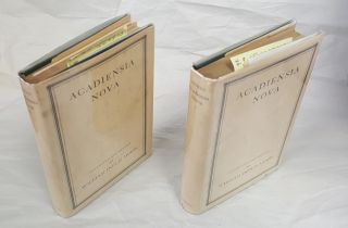 ACADIENSIA NOVA [TWO VOLUME SET]. William Inglis Morse