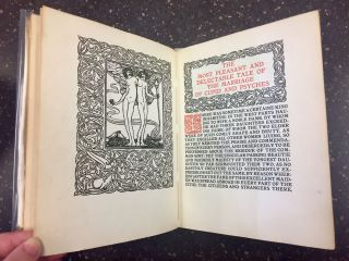 CUPID AND PSYCHES. TRANSLATED FROM THE LATIN OF APULEIUS. With woodcut decorations from designs by H.M. O'Kane.