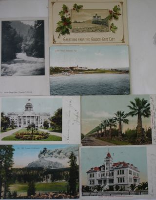 Collection of over 900 late 19th/ early 20th century postcards