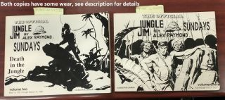THE OFFICIAL JUNGLE JIM SUNDAYS : VOLUME ONE and THE OFFICIAL JUNGLE JIM SUNDAYS: DEATH IN THE...