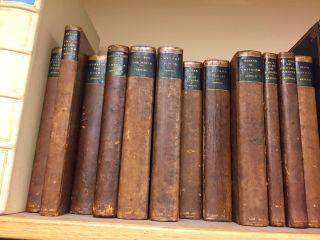 LAST ESSAYS ON CHURCH AND RELIGION. 12 VOLUMES. Matthew Arnold