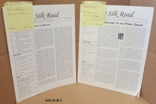 The Silk Road Journal [Two-Volume Set] Volume 1 Number 1 - January 15, 2003 Volume 1 Number 2 -...