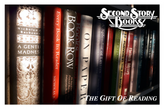 SECOND STORY BOOKS : $50 GIFT CERTIFICATE. $50 GIFT CERTIFICATE