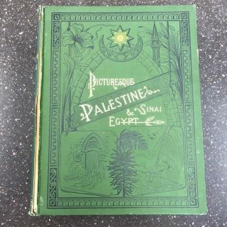 PICTURESQUE PALESTINE, SINAI AND EGYPT [FOUR VOLUMES]. Colonel Sir Charles W. Wilson