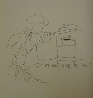 THE ART IN CARTOONING: SEVENTY-FIVE YEARS OF AMERICAN MAGAZINE CARTOONS [SIGNED AND DOODLED BY VARIOUS CARTOONISTS]