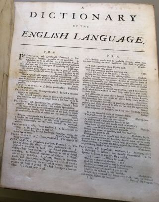 A DICTIONARY OF THE ENGLISH LANGUAGE: IN WHICH THE WORDS ARE DEDUCED FROM THEIR ORIGINALS, AND...