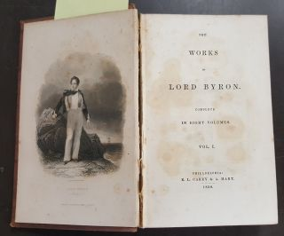 The Works of Lord Byron, Complete in Eight Volumes (Eight-Volume Set)