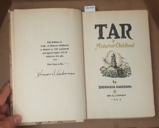 TAR: A MIDWEST CHILDHOOD [SIGNED]
