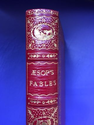 THE FABLES OF AESOP, AND OTHERS, WITH DESIGNS ON WOOD, BY THOMAS BEWICK [KELLIEGRAM BINDING]