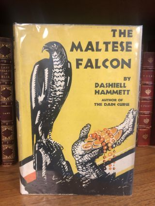 THE MALTESE FALCON. Dashiell Hammett