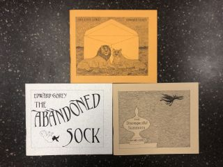 THREE BOOKS FROM THE FANTOD PRESS IV: THE DISRESPECTFUL SUMMONS; THE ABANDONED SOCK; THE LOST...
