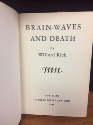 BRAIN WAVES AND DEATH