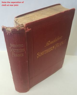 Southern France including Corsica, Handbook for travellers. Karl Baedeker