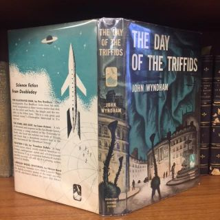 THE DAY OF THE TRIFFIDS. John Wyndham, Whitney Bender, jacket
