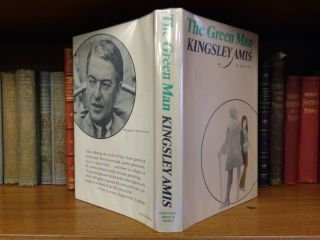 THE GREEN MAN [INSCRIBED]. Kingsley Amis, Paul Bacon, DJ