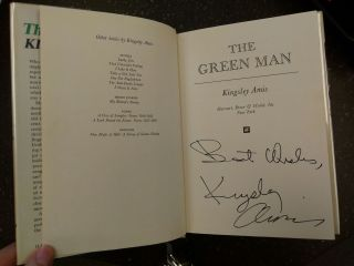 THE GREEN MAN [INSCRIBED]