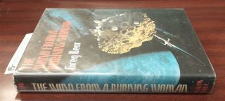 The Wind from a Burning Woman [signed]. Greg Bear, Dennis Neal Smith