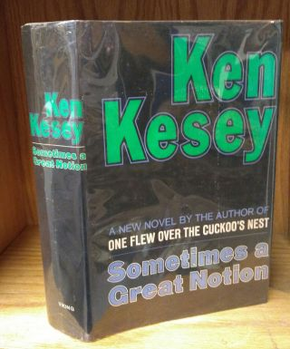 SOMETIMES A GREAT NOTION [INSCRIBED]. Ken Kesey, Paul Bacon