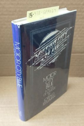 Motor City Blue [signed]. Loren D. Estleman